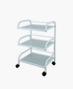 3 Tier Glass Trolley
