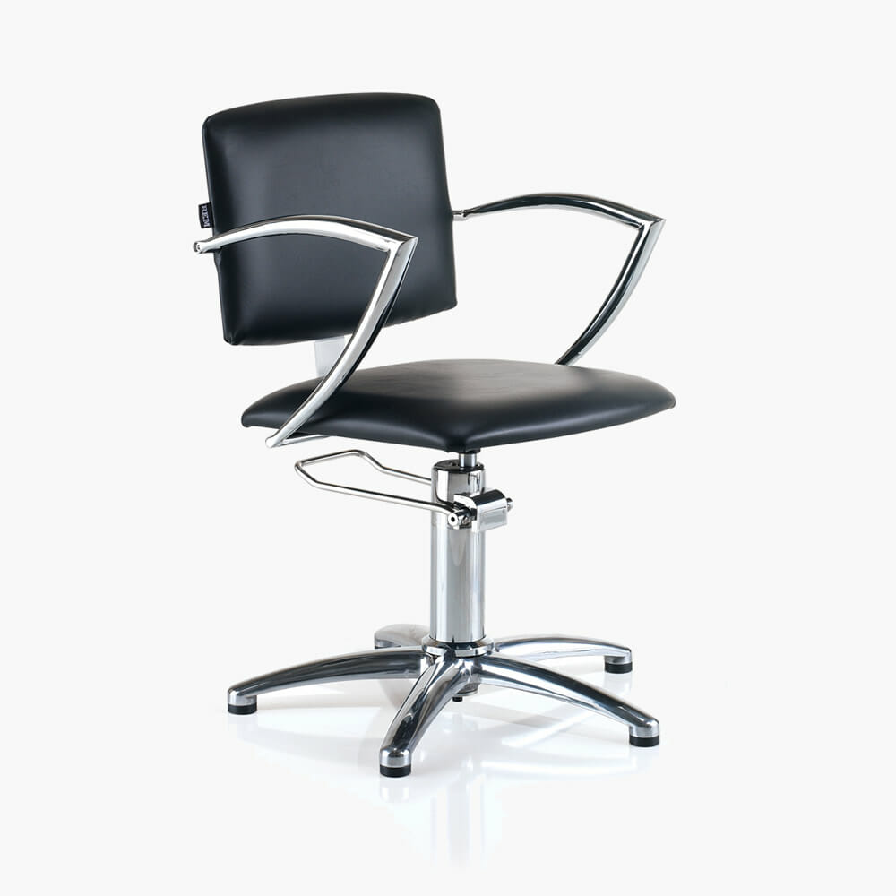 Rem Atlas Hydraulic Styling Chair In Black Direct Salon Furniture