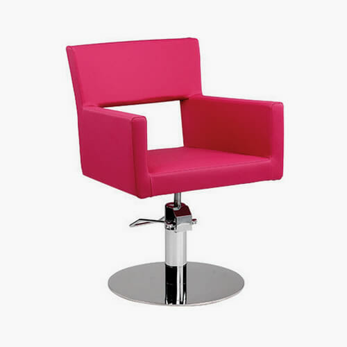Ayala amelia hydraulic styling chair direct salon furniture for Modern salon furniture packages
