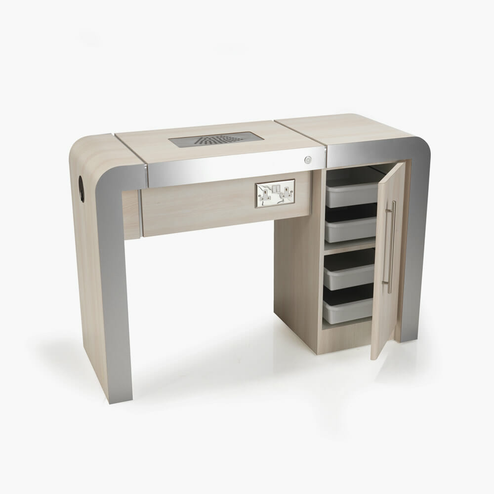 REM Concorde Nail Station 1 Position | Direct Salon Furniture