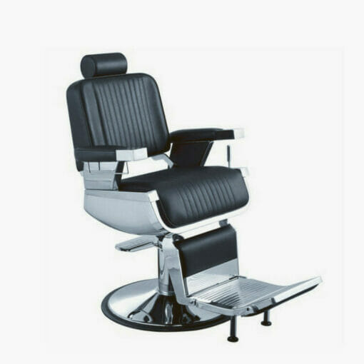 Crewe Kensington Barbers Black Chair
