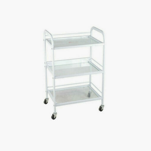 Crewe Minerva Glass Beauty Trolley