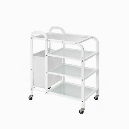 Direct Salon Furniture Mobile Metalic Beauty Trolley