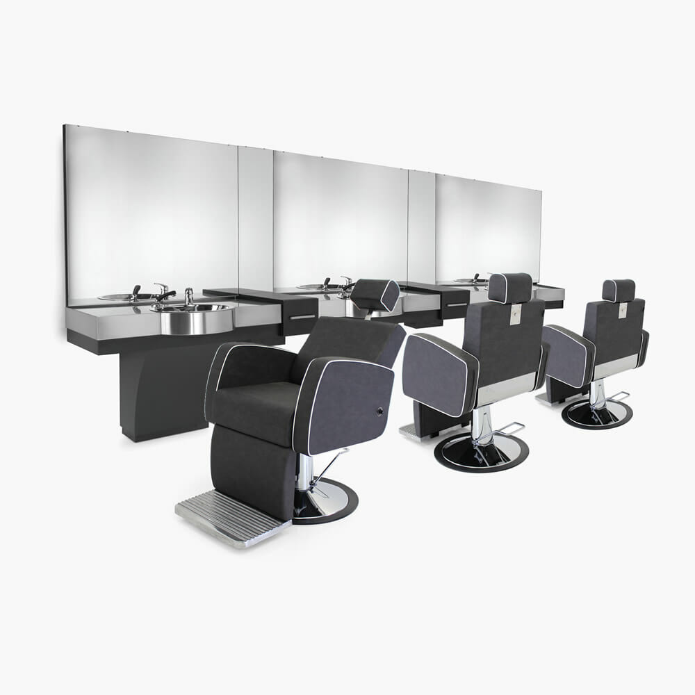 Rem aviator barbers furniture package direct salon furniture for Furniture packages uk