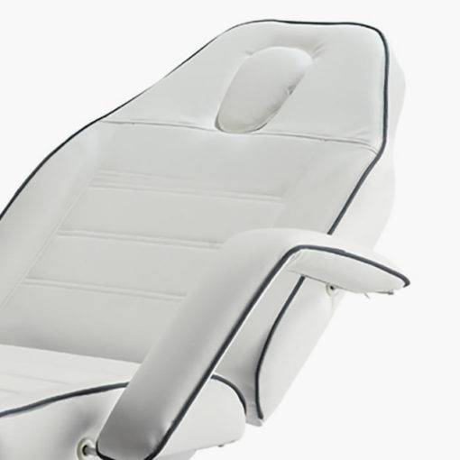 REM Excel 3 Motor Beauty Couch in White