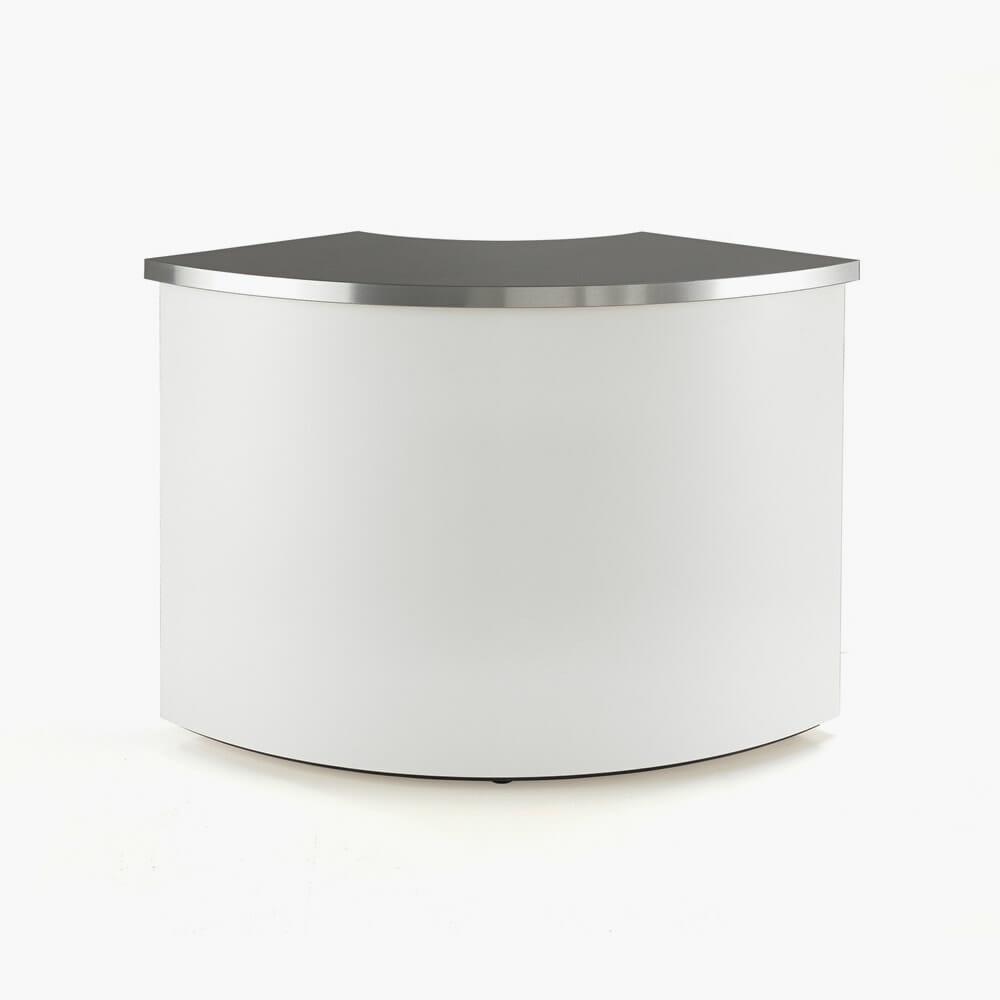 Rem Helix Reception Desk Curved Section Direct Salon Supplies