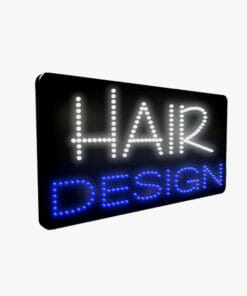 LED Hair Design Sign