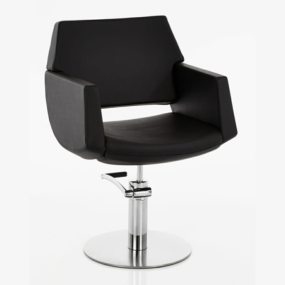 Direct salon furniture lima hydraulic styling chair dsf uk for Salon couch