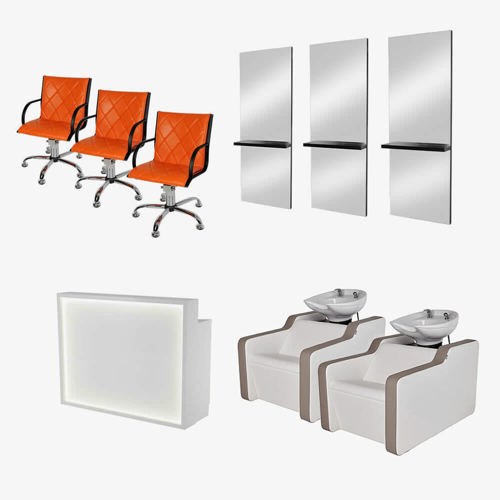 Mila Salon Furniture Package C Direct Salon Furniture
