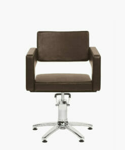 Odeon Brown Hydraulic Styling Chair