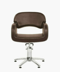 Opera Brown Hydraulic Styling Chair
