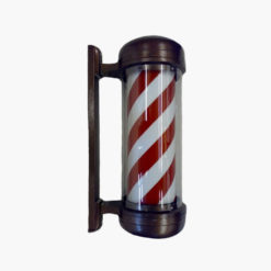 Premium Revolving Barbers Pole Red-White