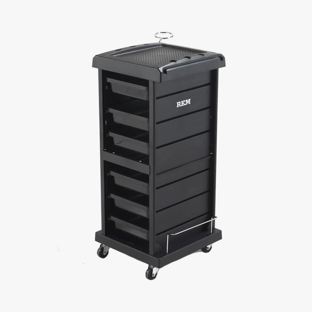 Rem jupiter salon trolley direct salon furniture for Salon trolley