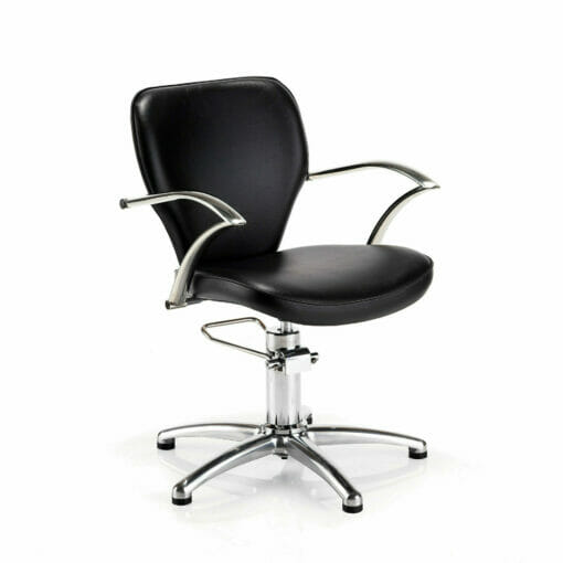 REM Miranda Hydraulic Black Styling Chair - EXPRESS DELIVERY