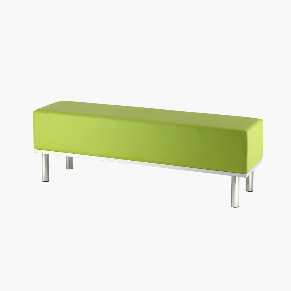 Sk oxford 3 seater reception bench direct salon furniture for Salon bench
