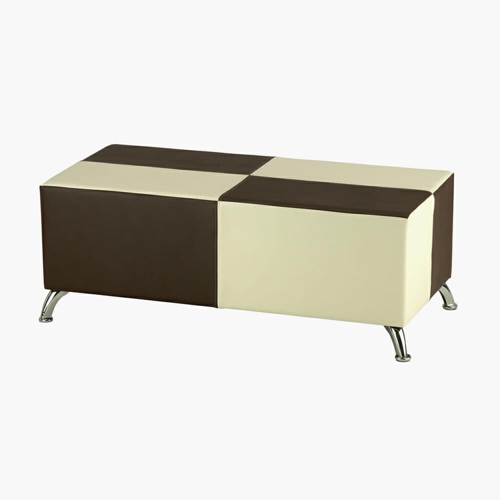 Rem elegance corner waiting seat direct salon furniture for Salon bench