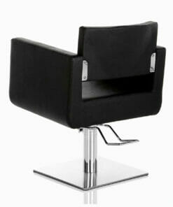 Sabre Hydraulic Styling Chair in Black