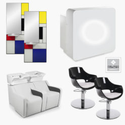 Direct salon furniture insignia package b direct salon for Modern salon furniture packages