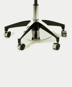 WBX Ascot Saddle Stool with Dual Foot Disc Height Control