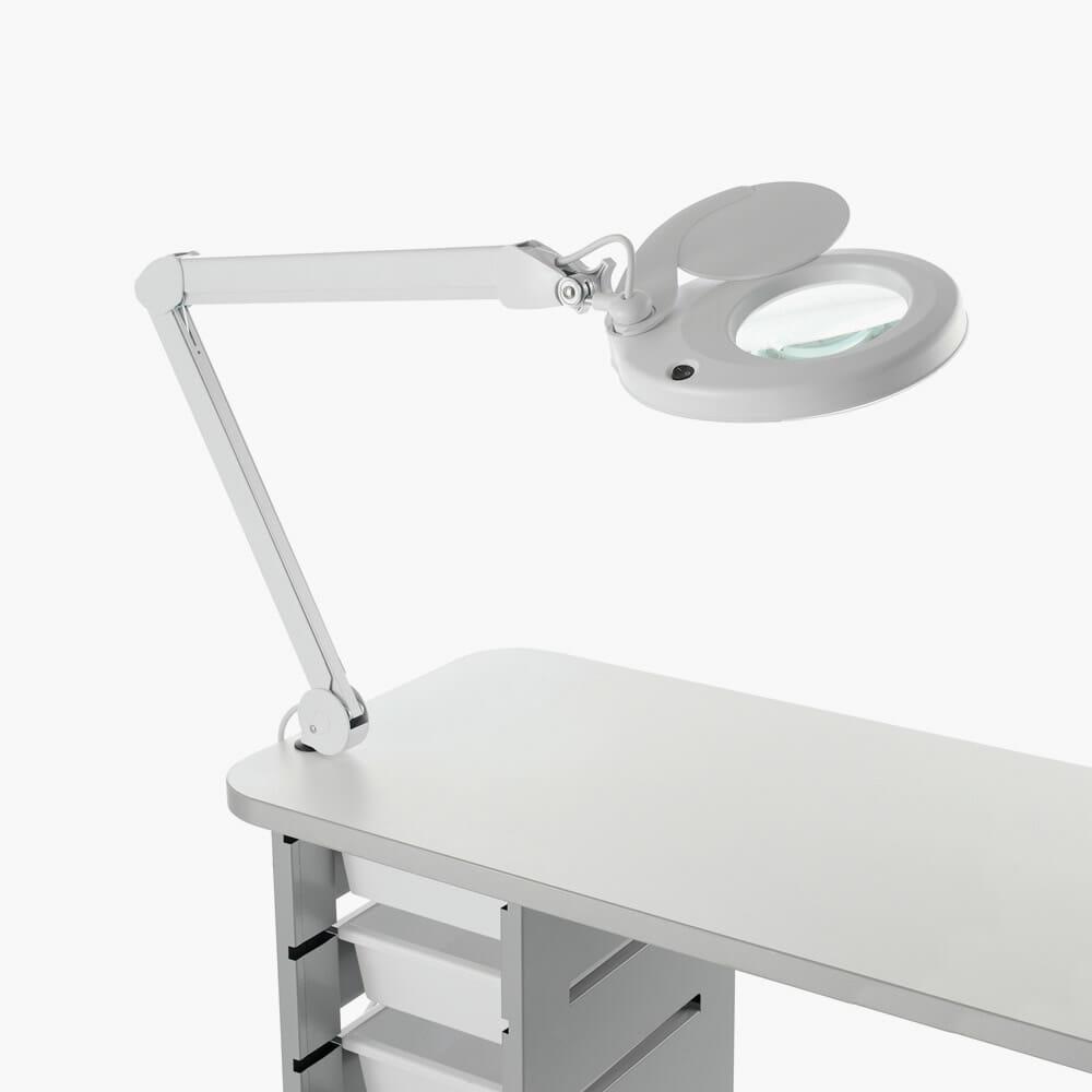 REM Rio LED Table Top Magnifying Lamp  Direct Salon Furniture -> Table Salon Led