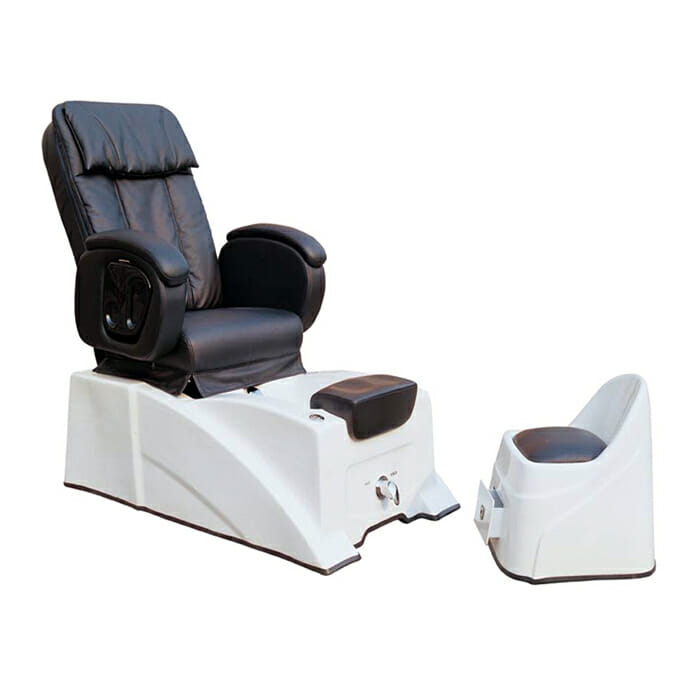 Direct Salon Furniture 908 Pedicure Spa Chair With Stool