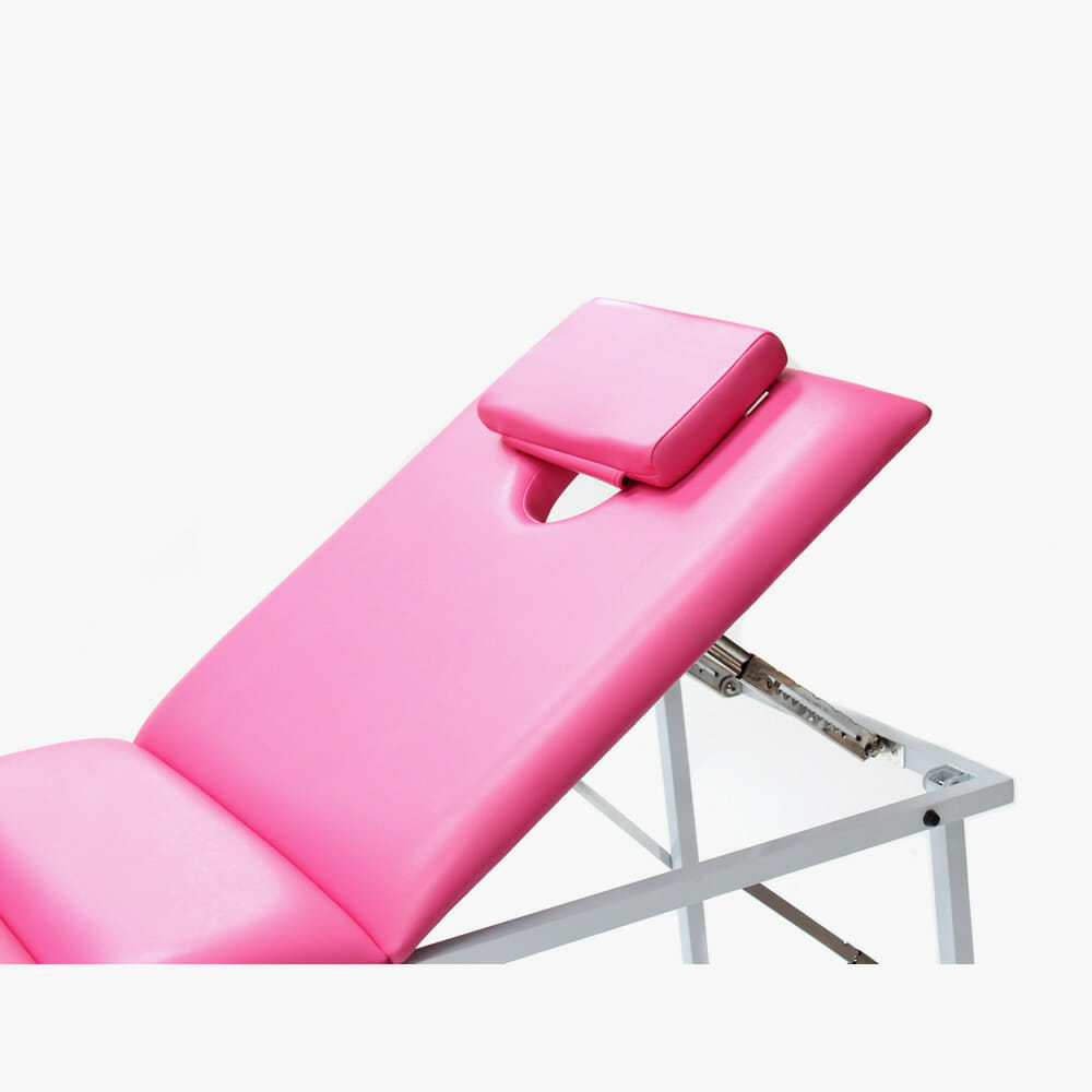 Crewe orlando portable beauty couch in pink direct salon for Portable beauty chair