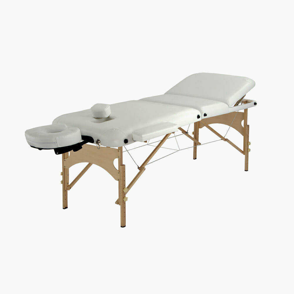 Direct salon furniture durham elite treatment couch for Mobile beauty therapist table