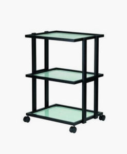 3 Tier Black Beauty Trolley