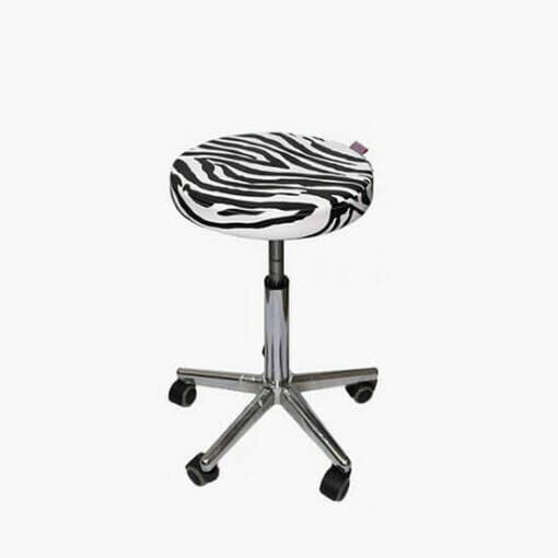 Crewe Orlando Zebra Cutting Stool