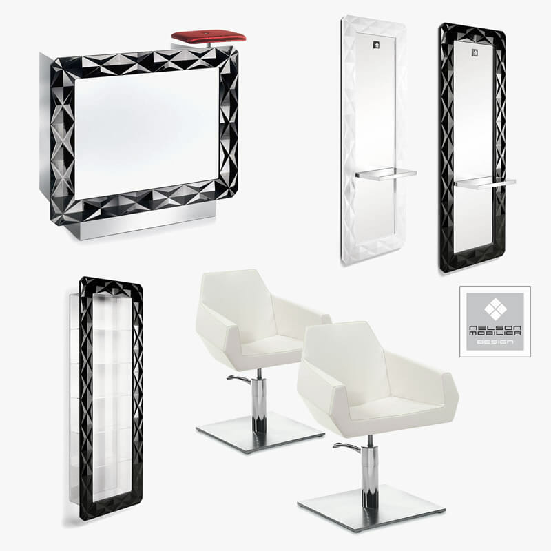 Crewe orlando barbados salon package direct salon furniture for Modern salon furniture packages