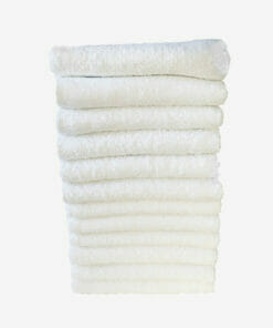 Feel For Hair White Beauty Towels