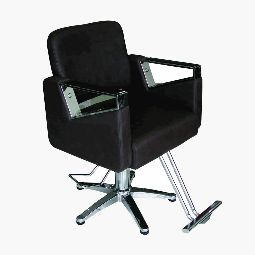 Chairs Direct: Lyon Hydraulic Styling Chair In Black