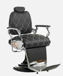 Mila Tiger Diamond Barbers Chair