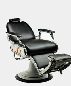 Mila Tiger Barbers Chair in Premium Upholstery