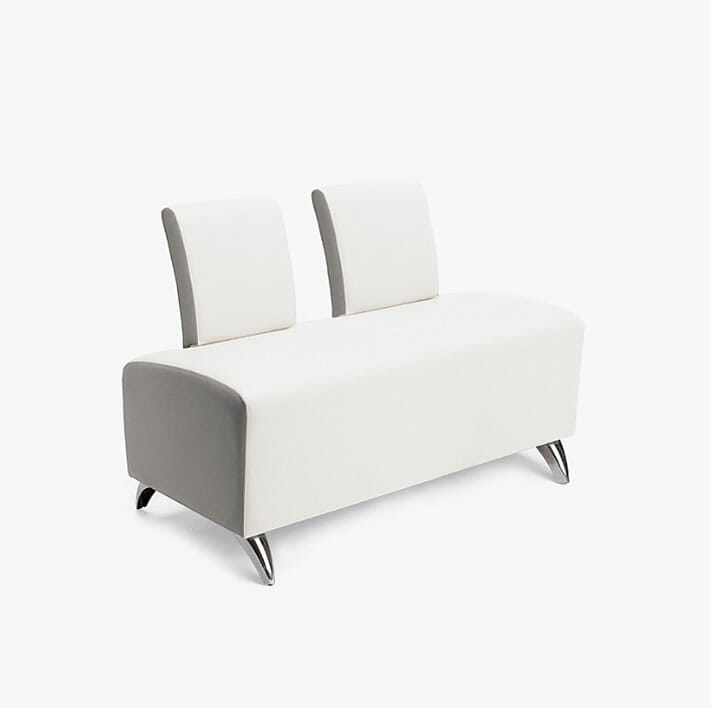 Nelson Mobilier Krypton 2 Seater Waiting Seat Direct