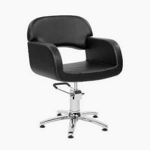 Opera Black Hydraulic Styling Chair