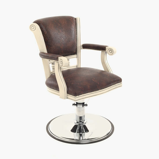 WBX Pompadour Hydraulic Styling Chair