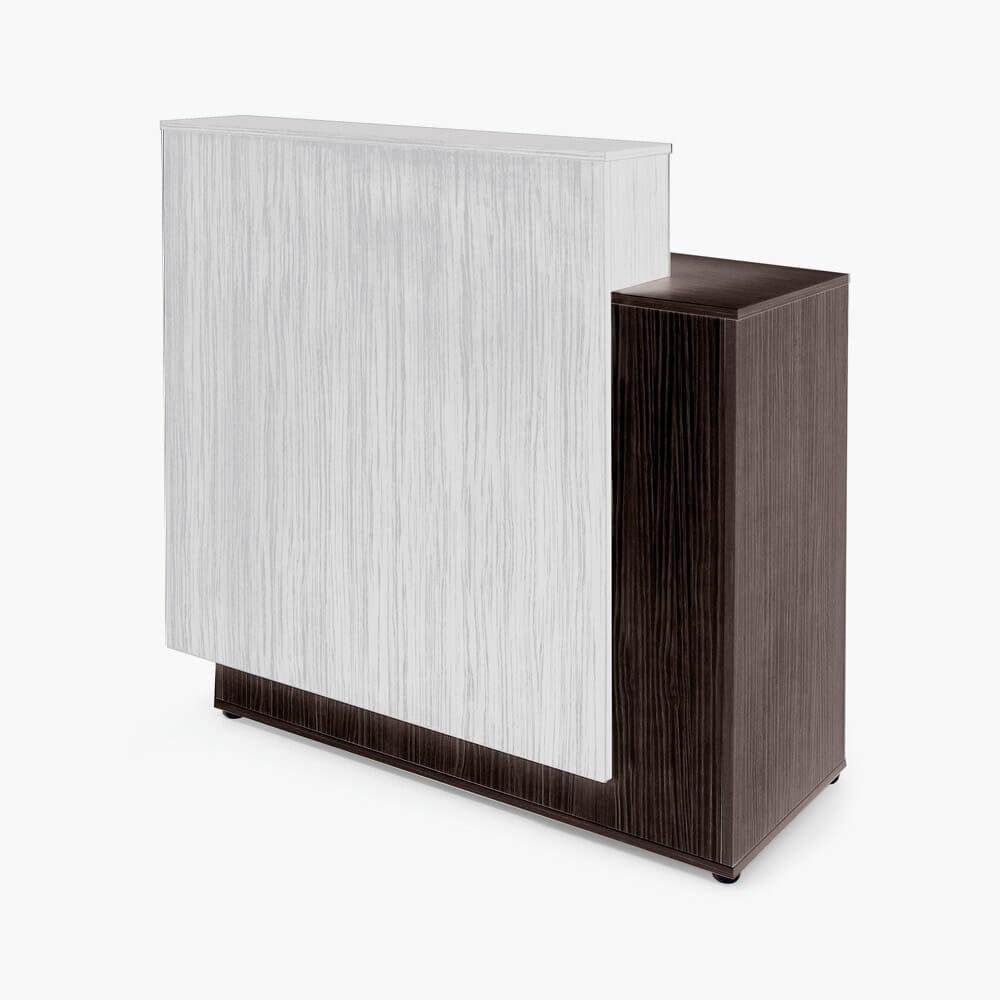 Rem linear reception desk direct salon furniture for Reception furniture