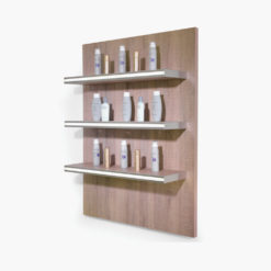REM Glam LED Retail Shelving Unit