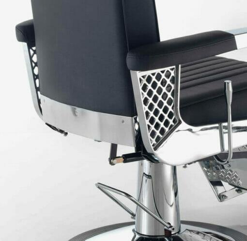 Rem Viscount Black Barbers Chair