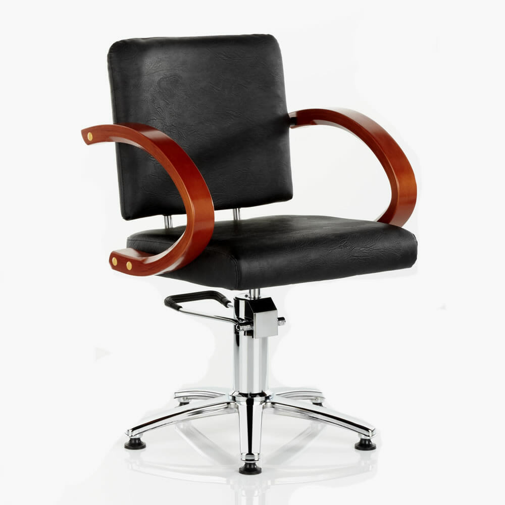 Sahara Hydraulic Styling Chair In Black Direct Salon Furniture