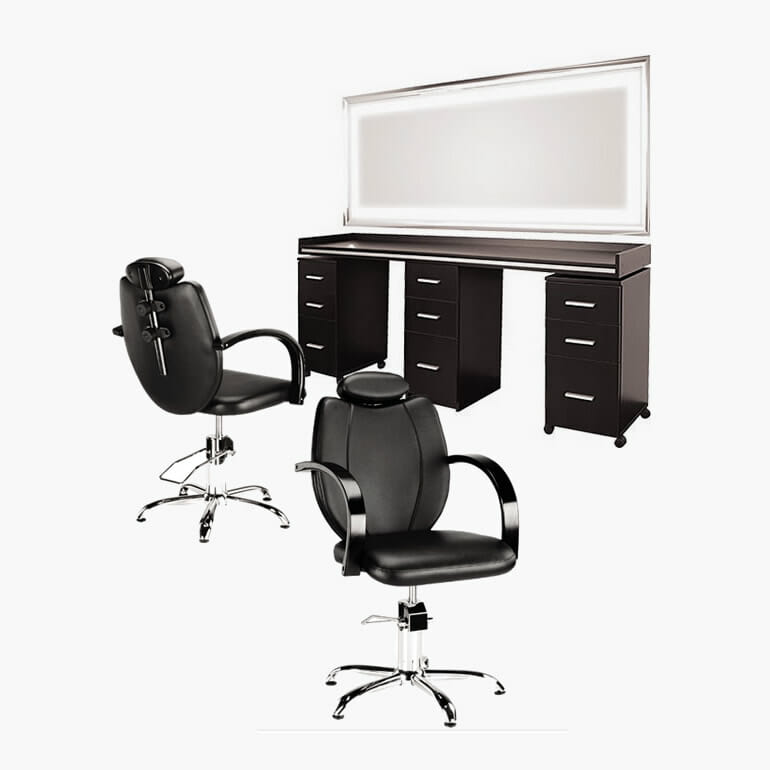 Ayala barbers package direct salon furniture for Furniture packages uk