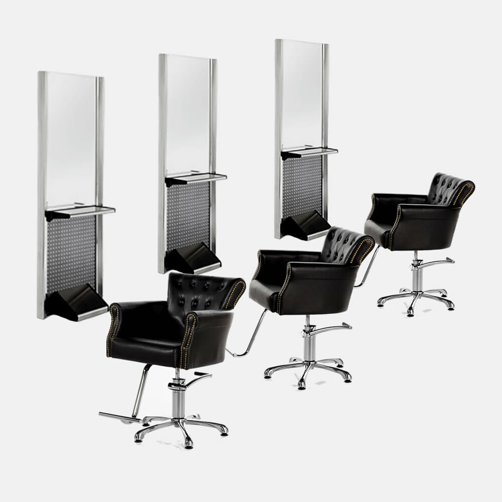 Insignia barbers furniture package a for Hairdressing furniture packages