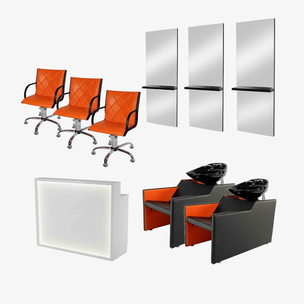 Mia salon furniture package c direct salon furniture for Furniture packages uk