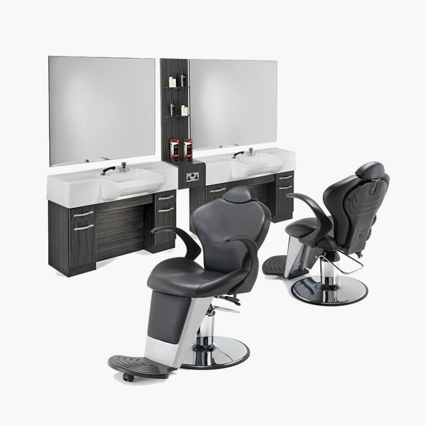 Rem boss furniture package direct salon furniture for Modern salon furniture packages