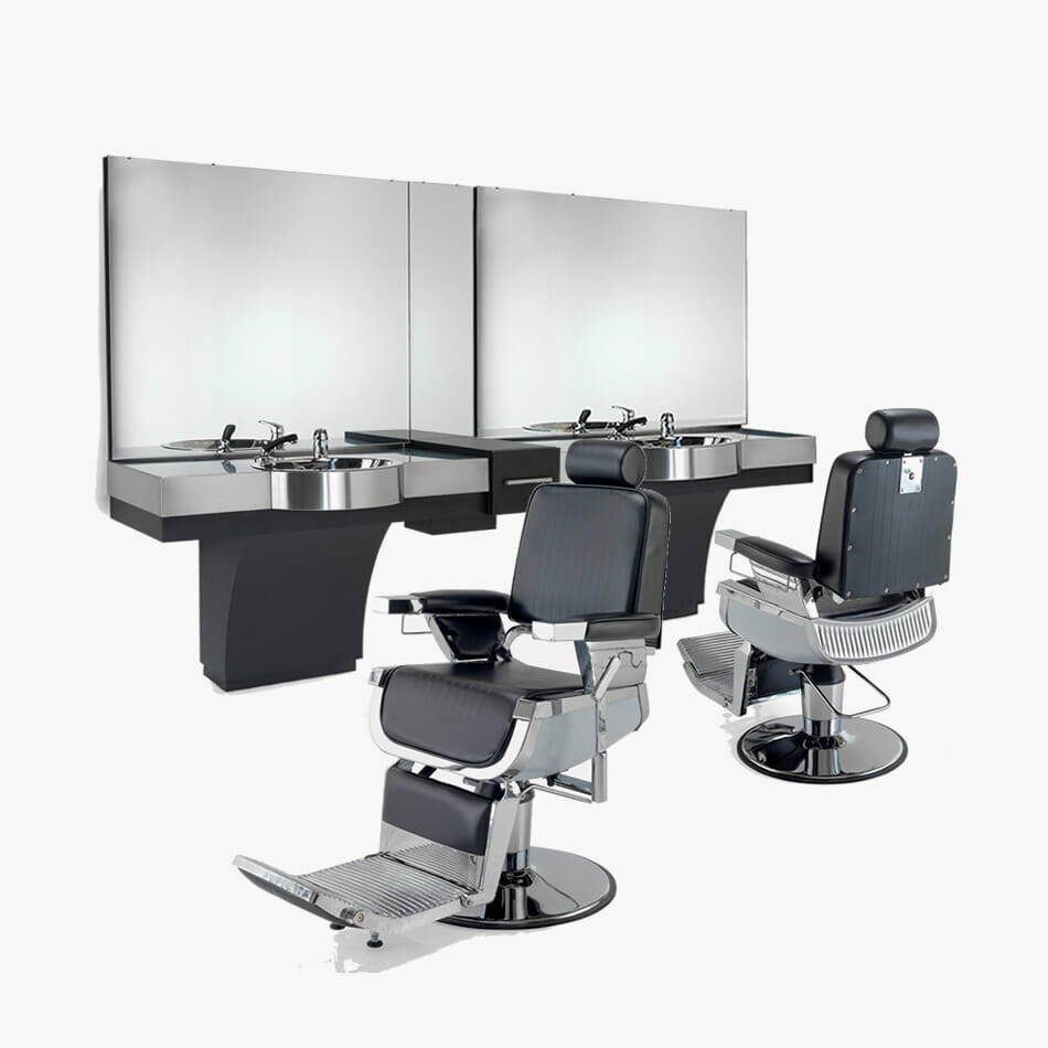 Rem emperor furniture package direct salon furniture for Salon furniture