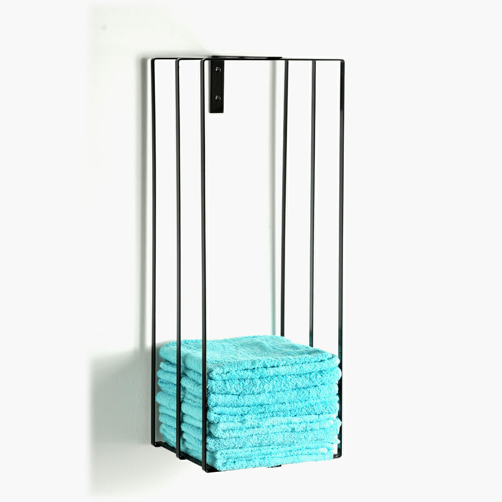 riley mini budpod wall mounted towel rack direct salon. Black Bedroom Furniture Sets. Home Design Ideas