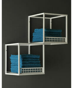 Riley Square Wall Mounted Towel Cube
