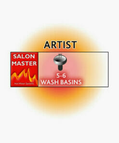 SALON MASTER READY HEAT ARTIST