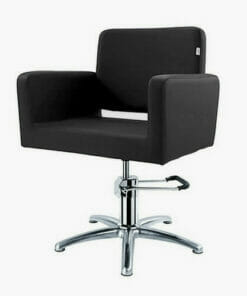 Crewe Orlando Barbados Black Hydraulic Styling Chair